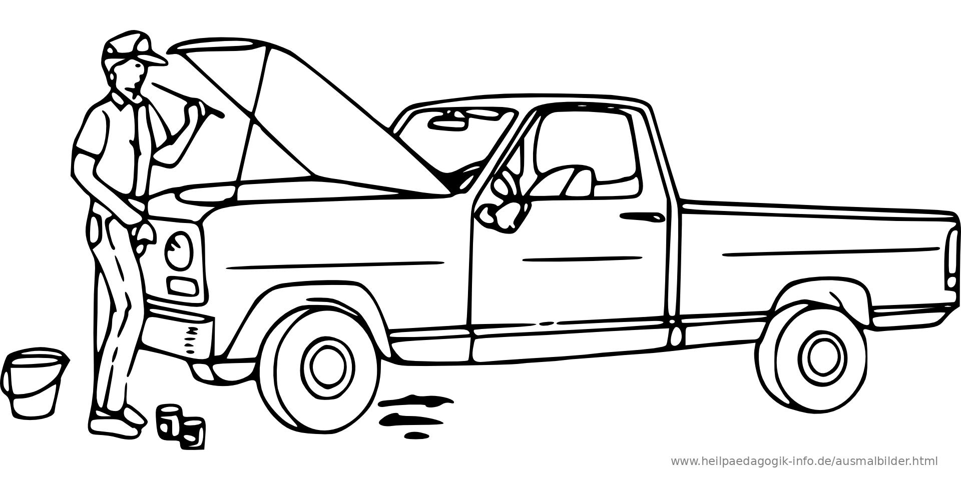malvorlagen auto kostenlos ausdrucken test - kinder