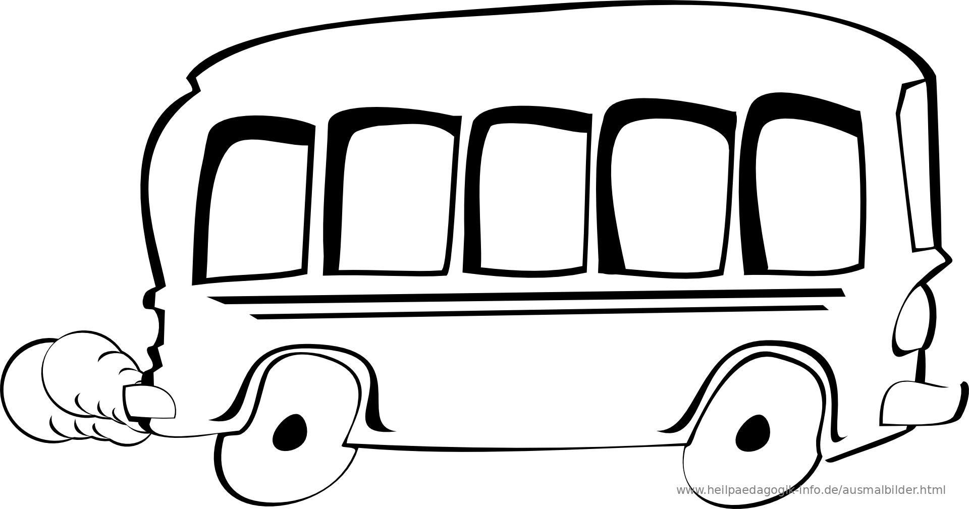 Ausmalbilder Busse