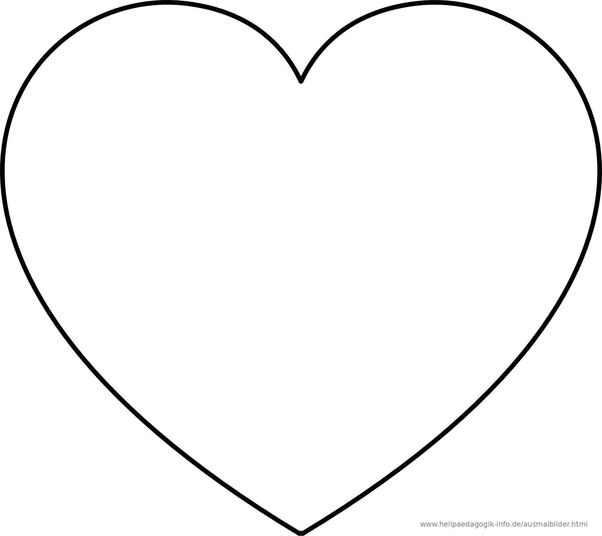 Ausmalbilder Herzen