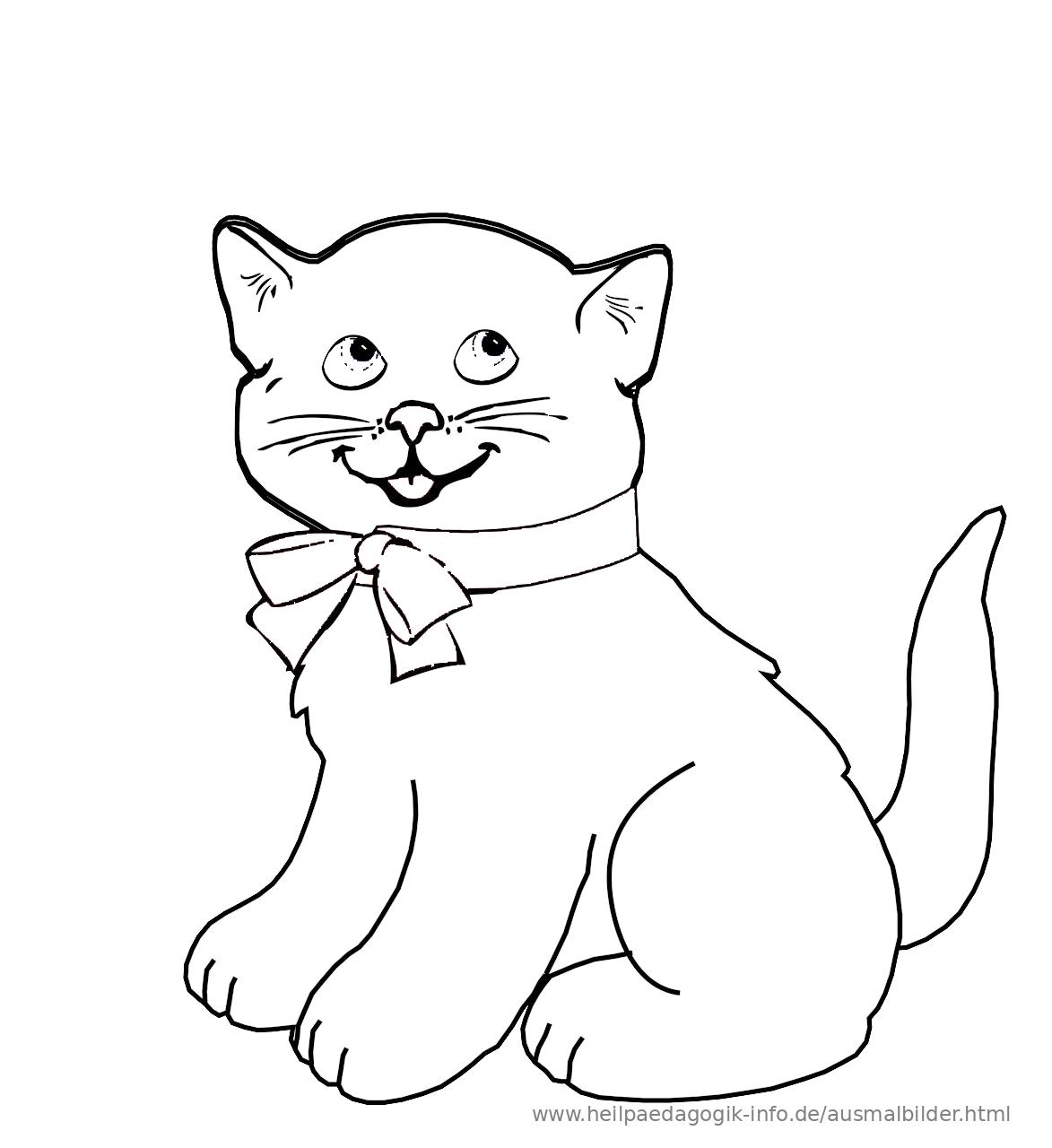 baby katzen zum ausmalen - ausmalbilder