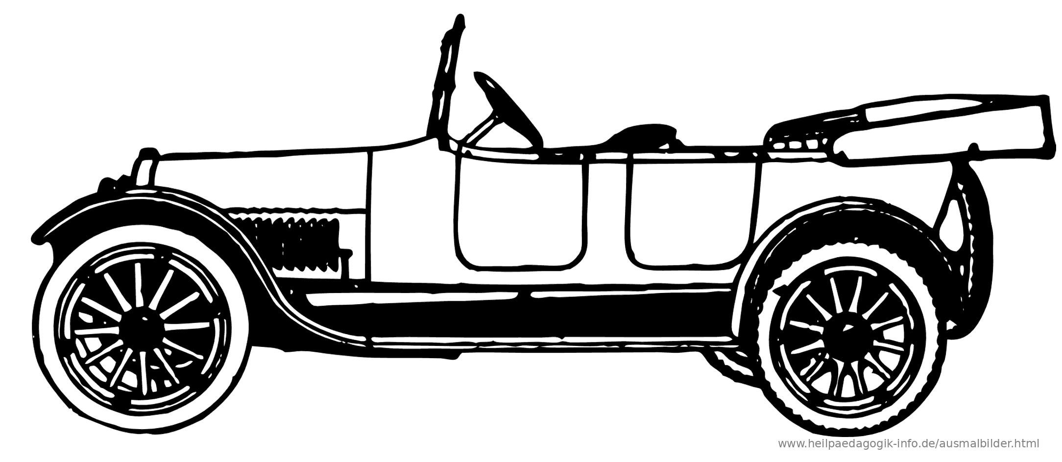 ausmalbilder autos