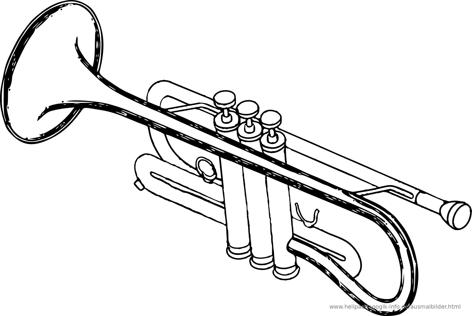 malvorlagen instrumente musik - zeichnen und färben