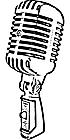 Ausmalbild Malvorlage Mikrofon