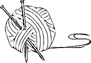 Ausmalbild Malvorlage Wollknäul