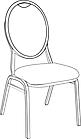 Ausmalbild Malvorlage Stuhl