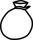Ausmalbild Malvorlage Tasche