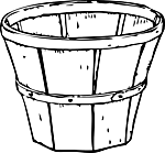 Ausmalbild Malvorlage Korb