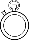 Ausmalbild Malvorlage Uhr