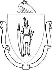 Ausmalbild Malvorlage Wappen Indianer