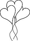Ausmalbild Malvorlage Herzballon