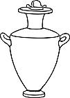 Ausmalbild Malvorlage Vase
