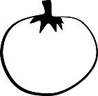 Ausmalbild Malvorlage Tomate