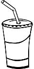 Ausmalbild Malvorlage Trinkbecher