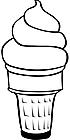 Ausmalbild Malvorlage Eis