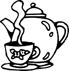 Ausmalbild Malvorlage Kaffeekanne
