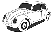 Ausmalbild Malvorlage Auto