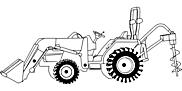 Ausmalbild Malvorlage Baumaschine