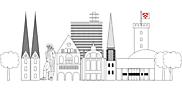 Ausmalbild Malvorlage Stadt
