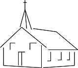 Ausmalbild Malvorlage Kirche