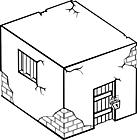 Ausmalbild Malvorlage Gefängnis