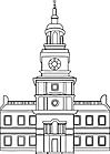 Ausmalbild Malvorlage Rathaus