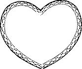 Ausmalbild Malvorlage Herz