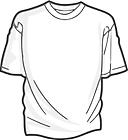 Ausmalbild Malvorlage T-Shirt