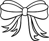 Ausmalbild Malvorlage Schleife