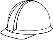 Ausmalbild Malvorlage Helm