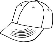 Ausmalbild Malvorlage Basecap