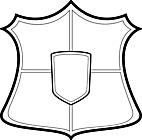 Ausmalbild Malvorlage Ritter Ausrüstung