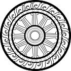 Ausmalbild Malvorlage Mandala