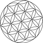Ausmalbild Malvorlage Mandala Kreise