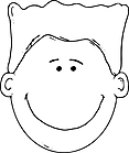 Ausmalbild Malvorlage lachendes Gesicht