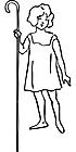 Ausmalbild Malvorlage Frau