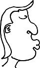 Ausmalbild Malvorlage Gesicht