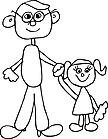 Ausmalbild Malvorlage Kinder