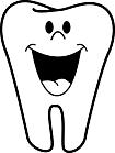 Ausmalbild Malvorlage Zahn