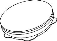 Ausmalbild Malvorlage Schelle / Schellenkranz