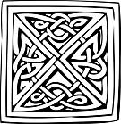 Ausmalbild Malvorlage Keltisches Muster