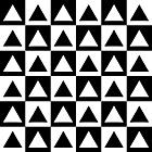 Ausmalbild Malvorlage Schachbrett Dreiecke
