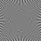 Ausmalbild Malvorlage Strahlen Quadrat