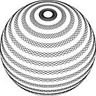 Ausmalbild Malvorlage Spirale