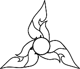 Ausmalbild Malvorlage Blume