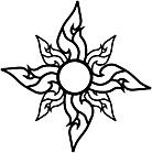 Ausmalbild Malvorlage Thai Muster