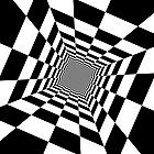 Ausmalbild Malvorlage Optische Illusion