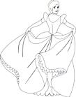 Ausmalbild Malvorlage Prinzessin