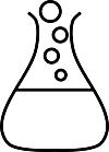 Ausmalbild Malvorlage Reagenzglas