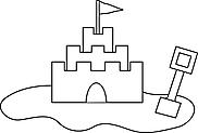 Ausmalbild Malvorlage Sandburg