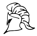 Ausmalbild Malvorlage Ritterhelm